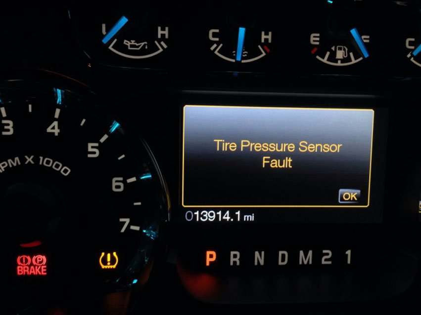 How To Deal With Tire Pressure Sensor Faults