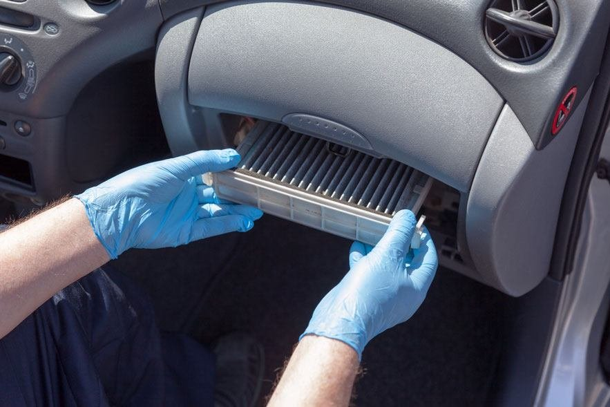 how to replace a cabin air filter