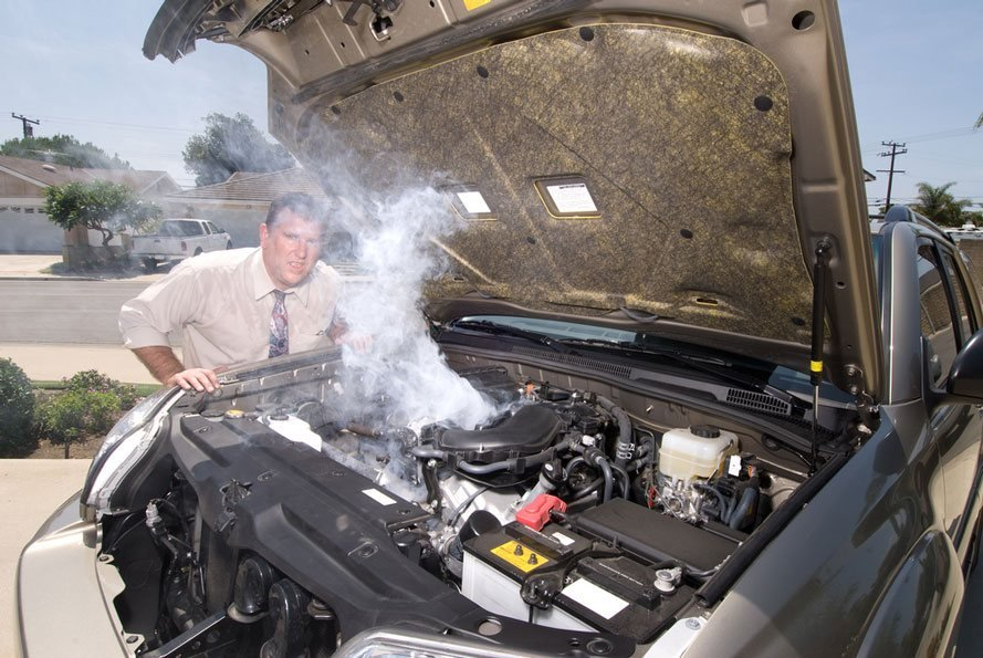 how to deal with engine overheating