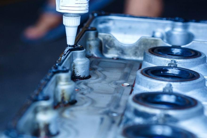 repairing cylinder head